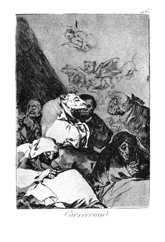 Correction - Francisco Goya