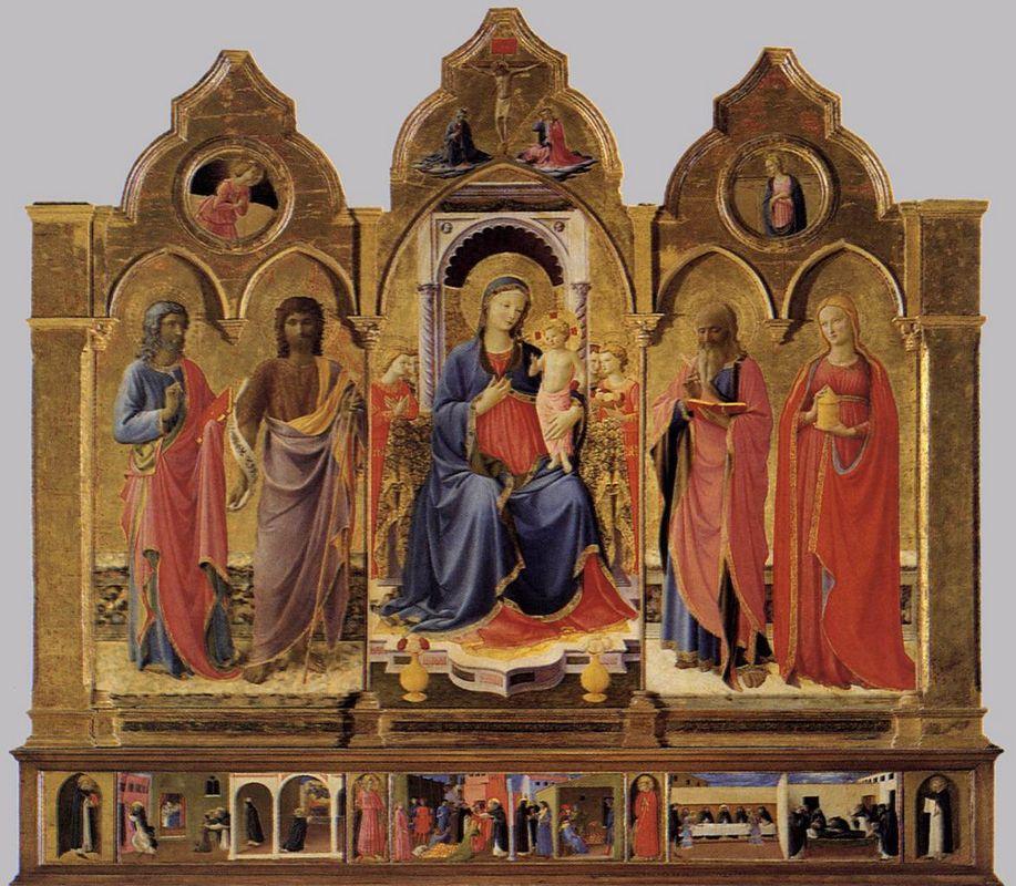 Cortona Polyptych - Fra Angelico