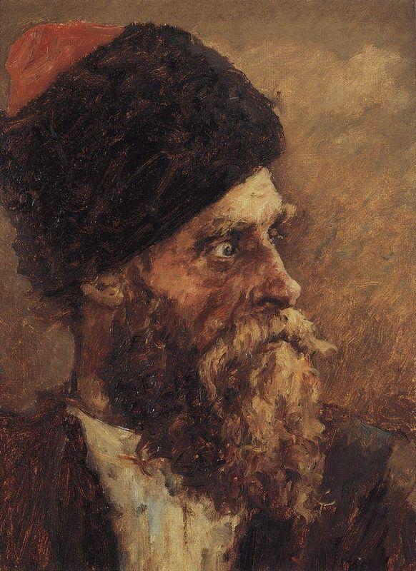 Cossack Dmitry Sokol - Vasily Surikov