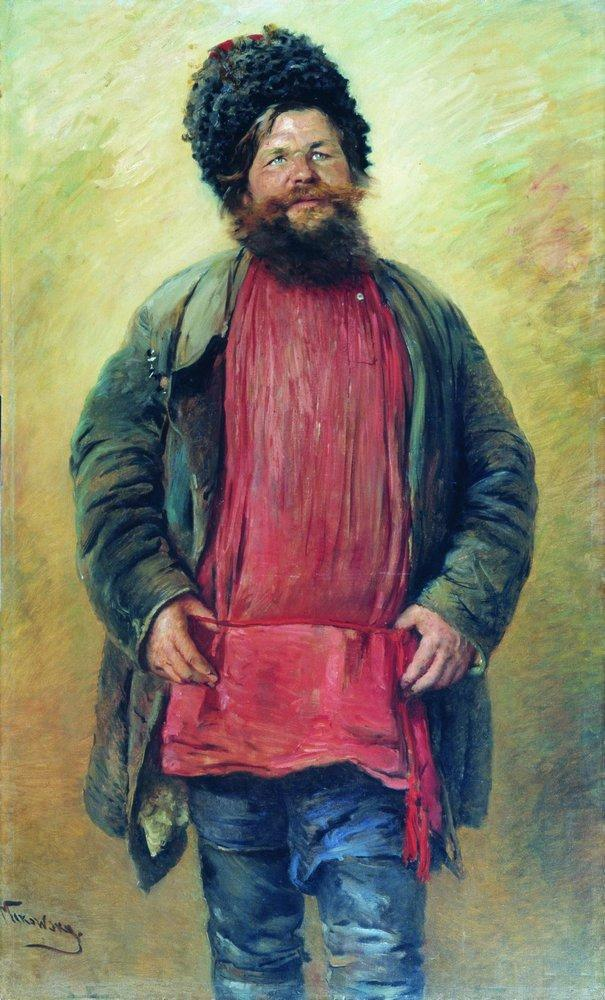 Cossack - Konstantin Makovsky