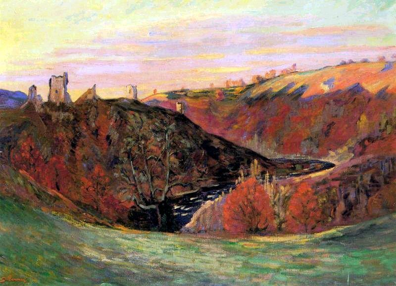 Sunset in Creuse - Armand Guillaumin