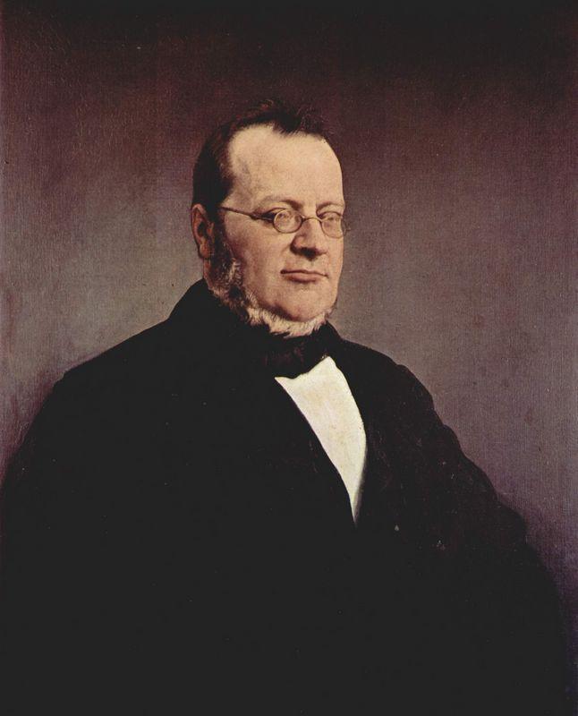 Count Camillo Cavour  - Francesco Hayez