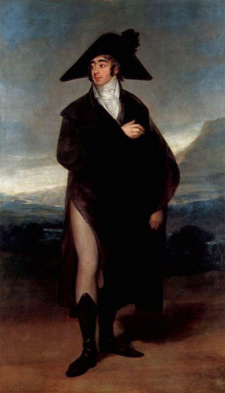 Count Fernand Nunez VII - Francisco Goya