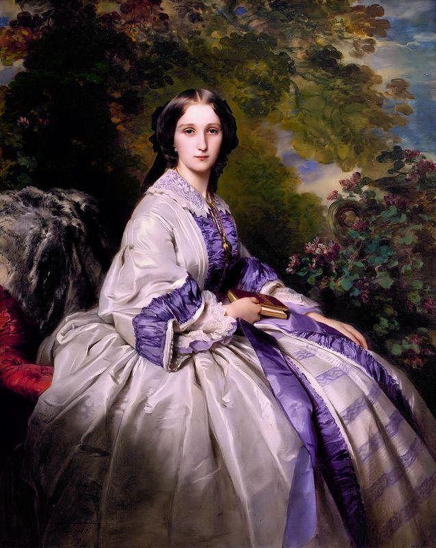 Countess Alexander Nikolaevitch Lamsdorff - Franz Xaver Winterhalter