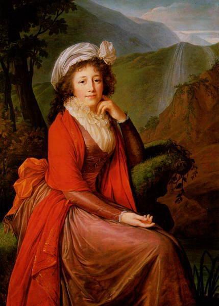 Countess Bucquoi - Louise Elisabeth Vigee Le Brun
