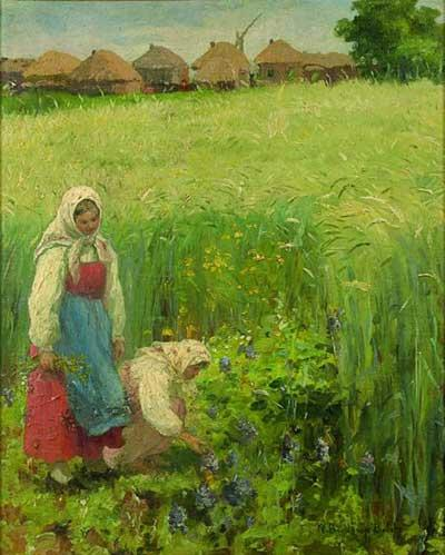 Country Girls - Nikolay Bogdanov-Belsky