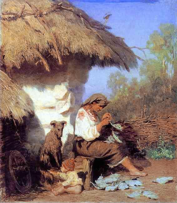 Country Idyll - Henryk Siemiradzki