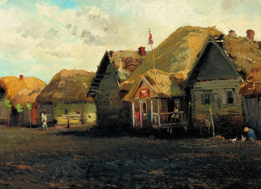 Country Landscape - Konstantin Makovsky