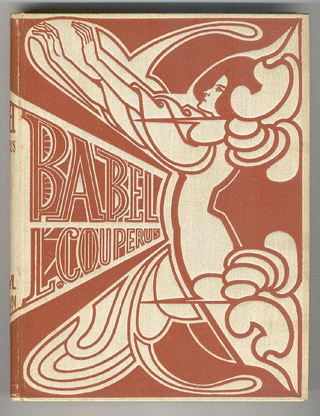 Cover for 'Babel' by Louis Couperus - Jan Toorop