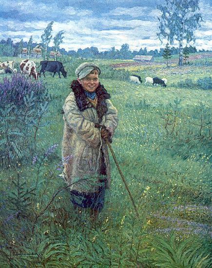 Cowboy Proshka - Nikolay Bogdanov-Belsky