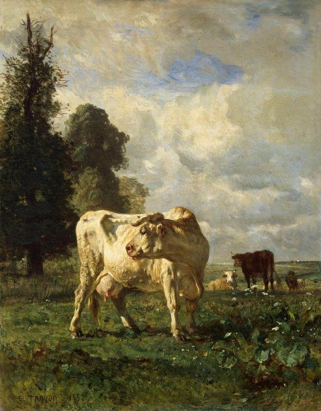 Cows in the Field - Constant Troyon