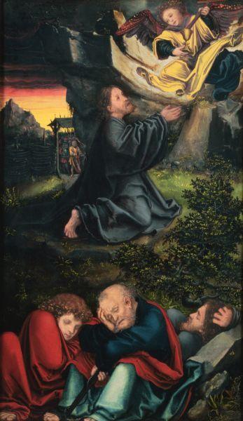 Cranach The Garden of Gethsemane - Lucas Cranach the Elder