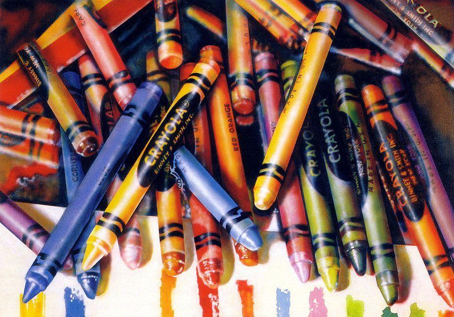Crayola - Audrey Flack