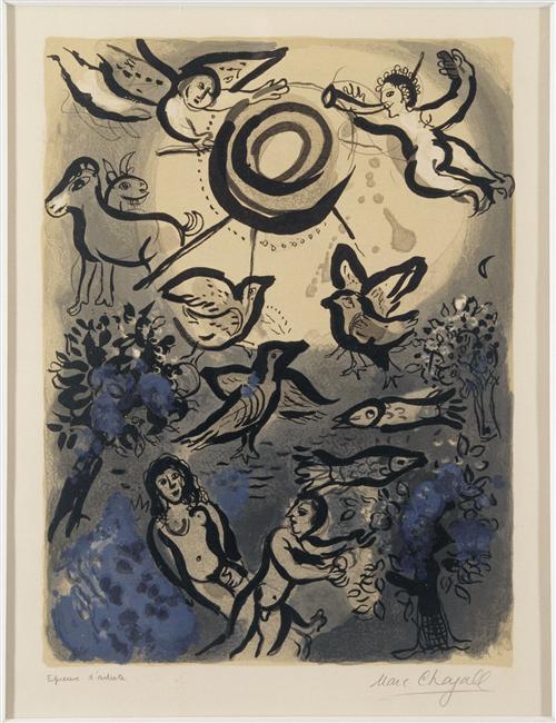 Creation - Marc Chagall