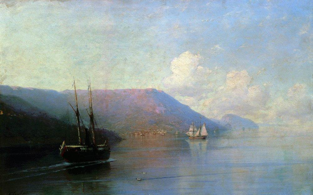 Crimean coast - Ivan Aivazovsky