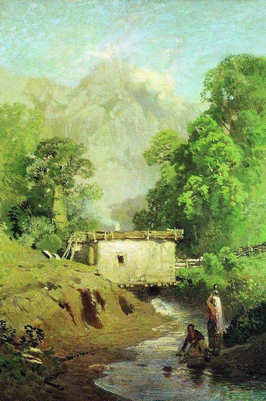 Crimean Landscape - Fyodor Vasilyev