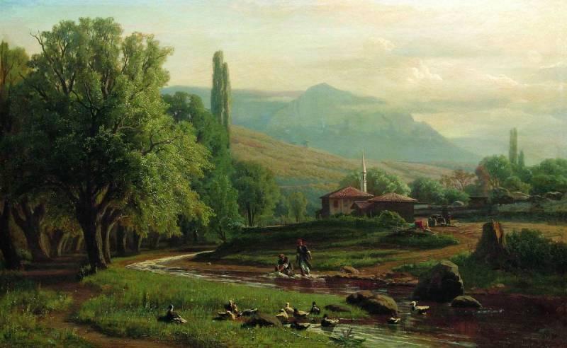 Crimean summer landscape - Volodymyr Orlovsky