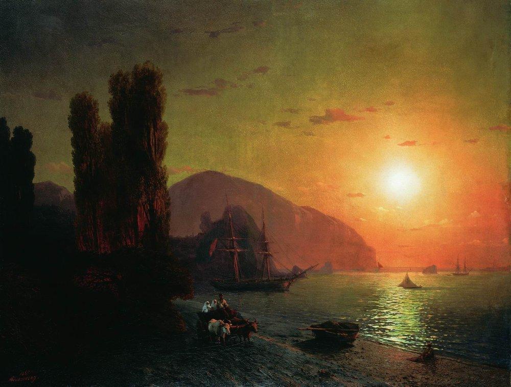 Crimean view. Ayu-Dag - Ivan Aivazovsky