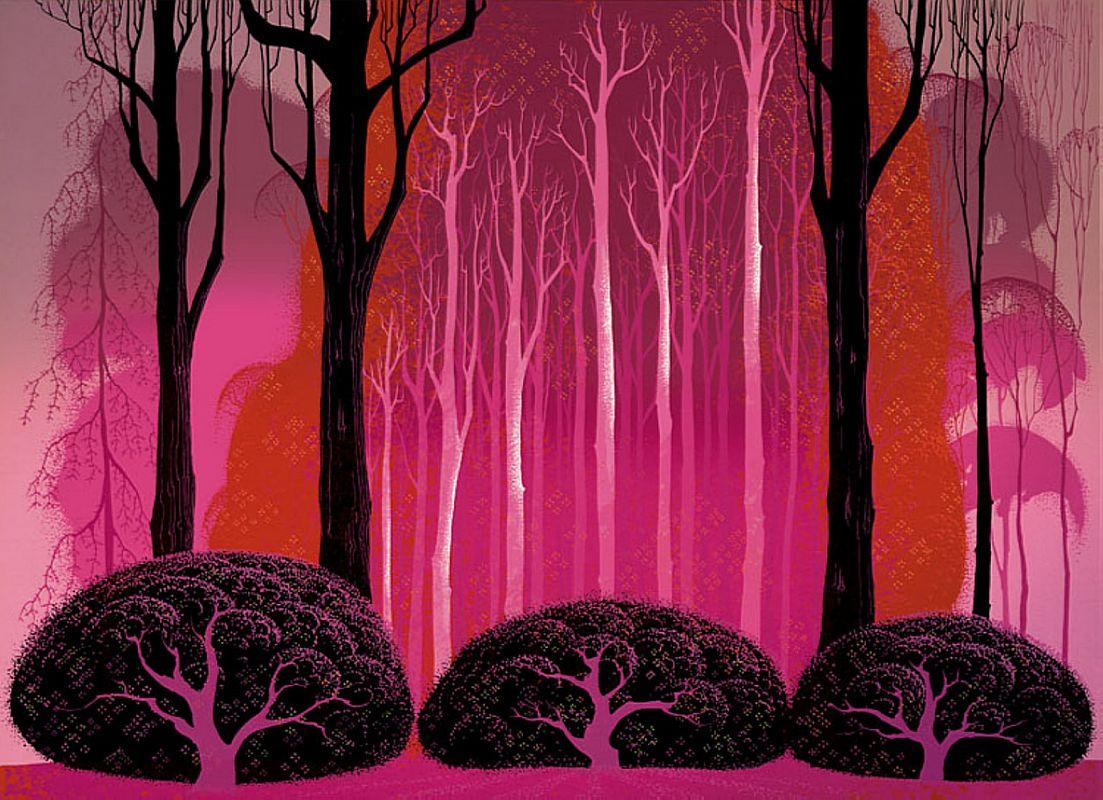 Crimson Glory - Eyvind Earle