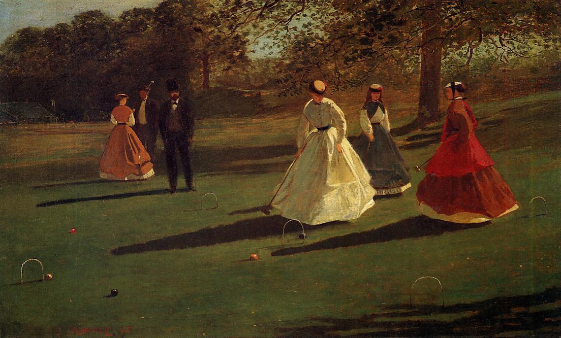 Croquet Players - Winslow Homer