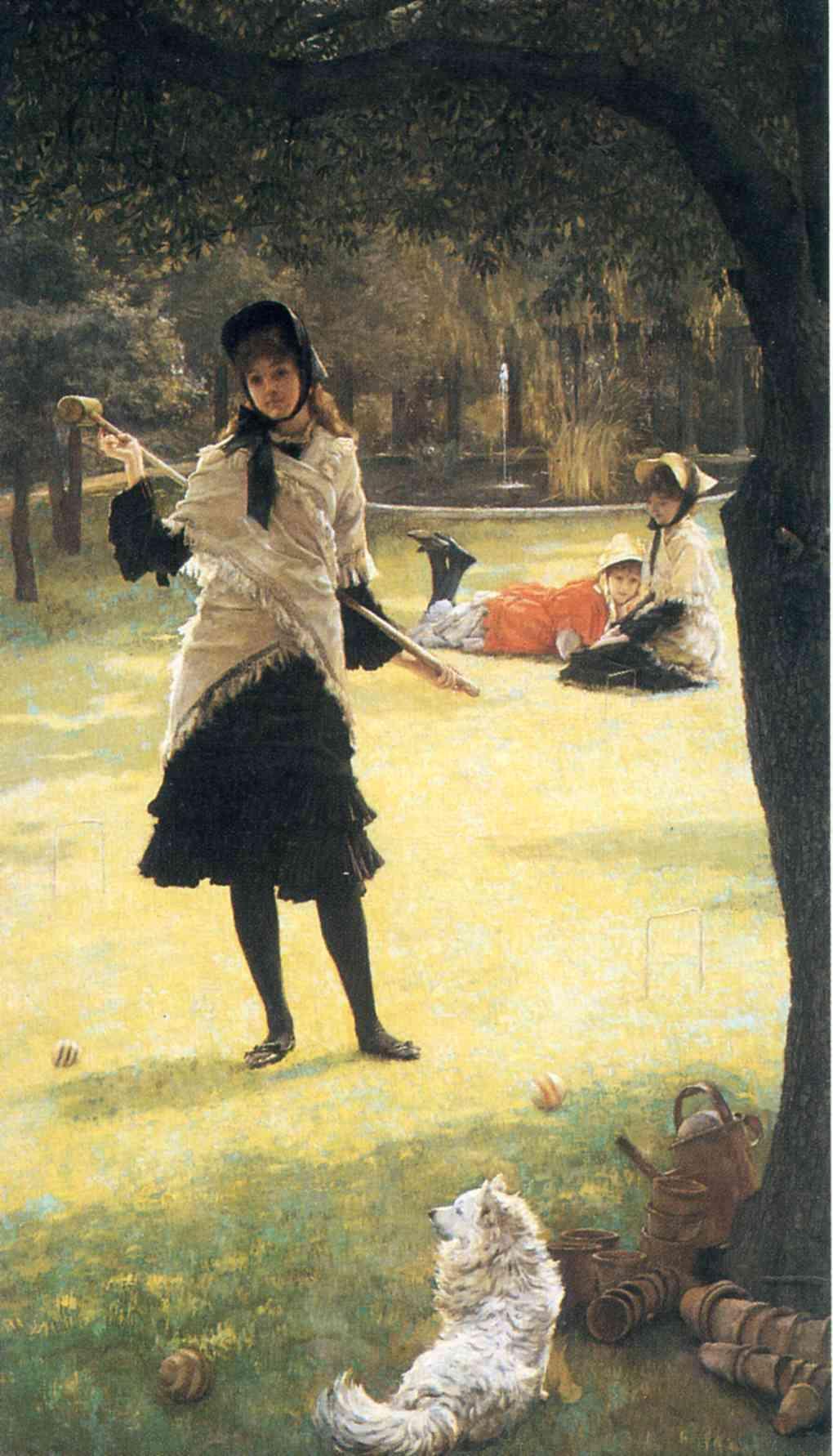 Croquet - James Tissot