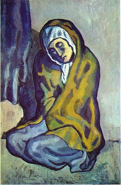 Crouching beggar - Pablo Picasso