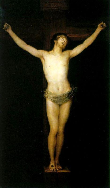 Crucified Christ - Francisco Goya