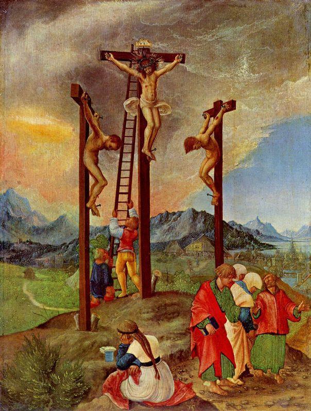 Crucifixion - Albrecht Altdorfer