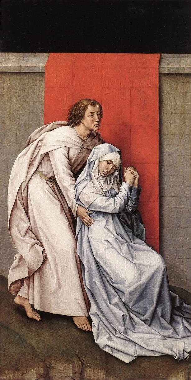 Crucifixion Diptych - Rogier van der Weyden