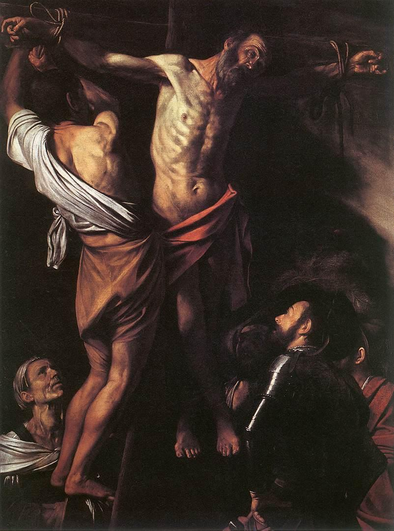 Crucifixion of Saint Andrew - Caravaggio