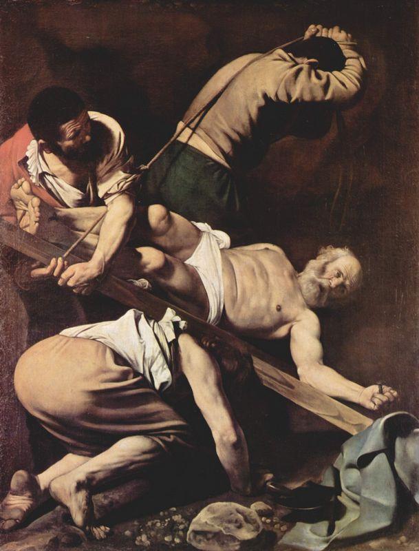 Crucifixion of Saint Peter - Caravaggio