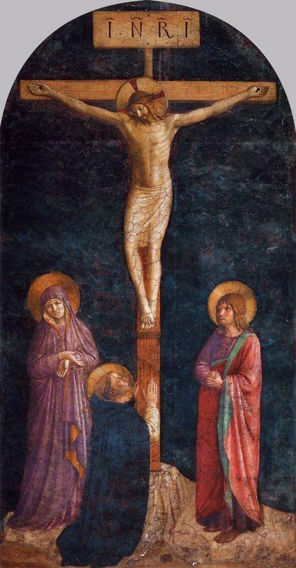 Crucifixion with St. Dominic - Fra Angelico