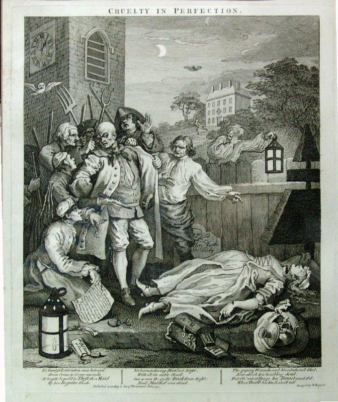 Cruelty in perfection - William Hogarth