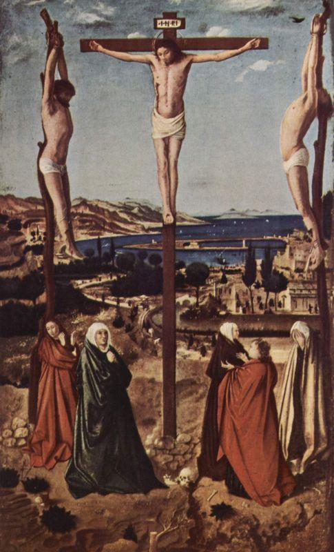 Crucifixion - Antonello da Messina