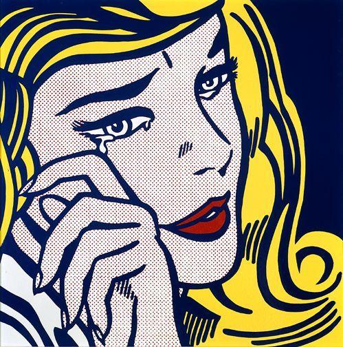 Crying girl - Roy Lichtenstein