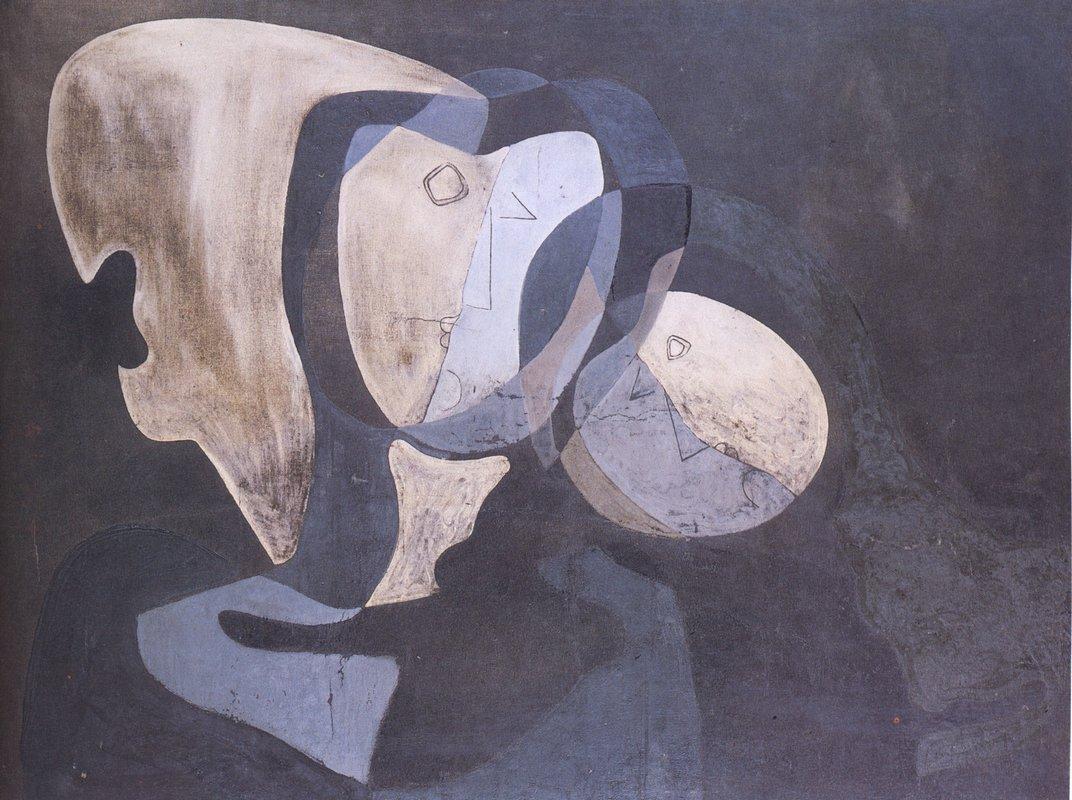 Cubist Figure - Salvador Dali
