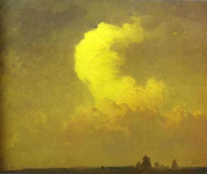 Cumulus. Study - Fyodor Vasilyev