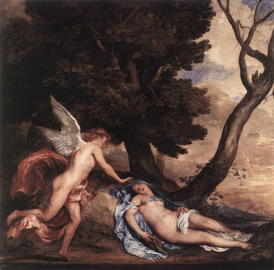 Cupid and Psyche - Anthony van Dyck