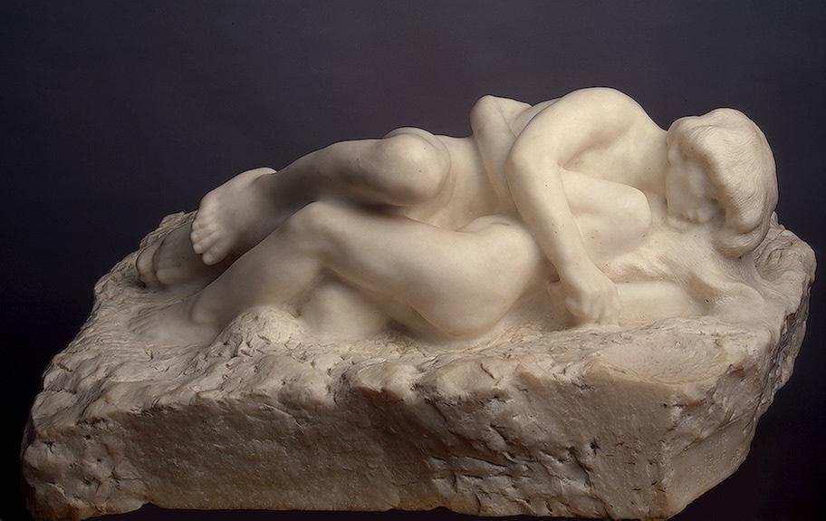 Cupid and Psyche - Auguste Rodin