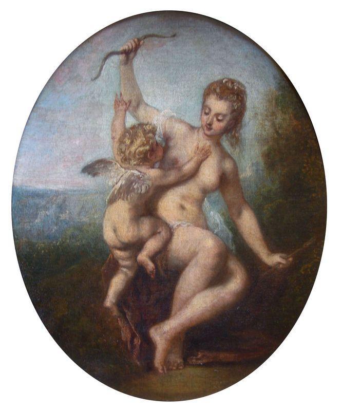 Cupid Disarmed - Antoine Watteau