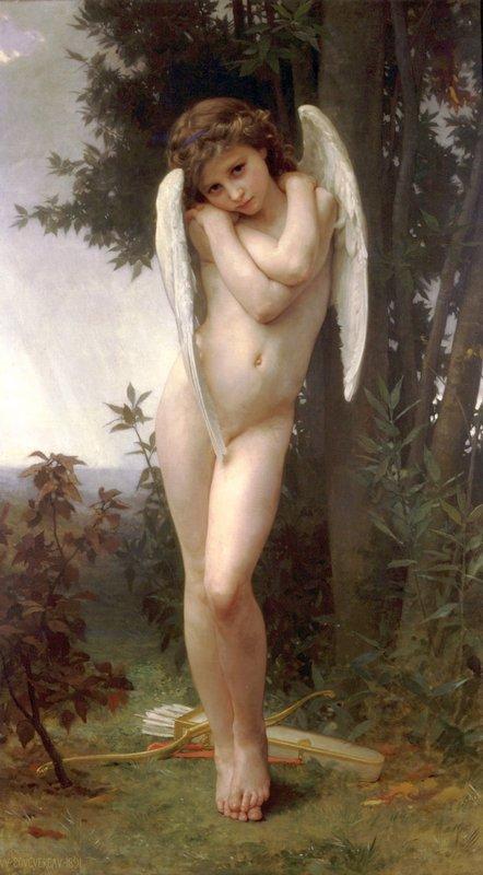 Cupidon - William-Adolphe Bouguereau