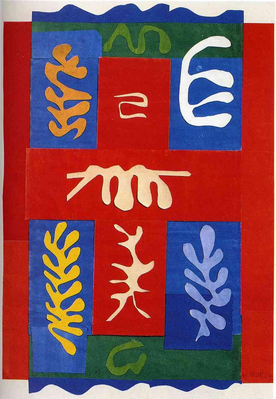 Cut Outs - Henri Matisse