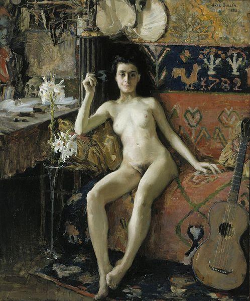 Demasquee - Akseli Gallen-Kallela