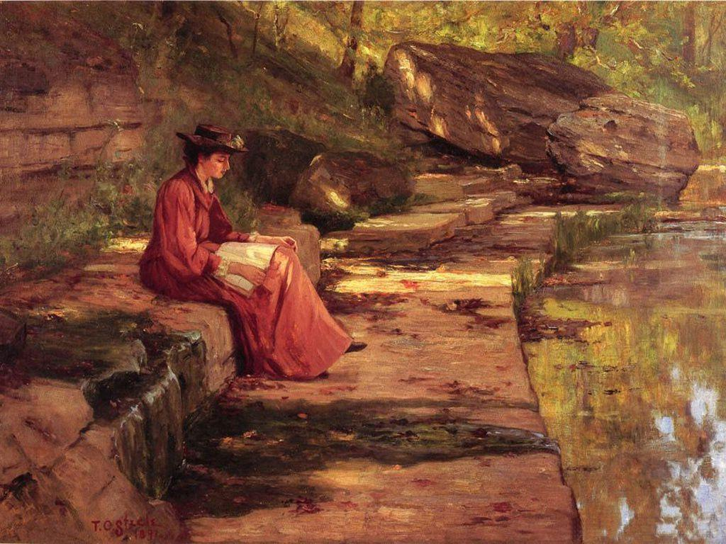 Daisy by the River - T. C. Steele