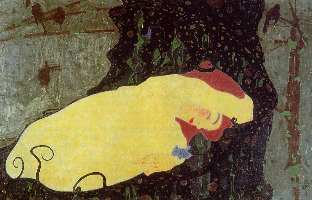 Danae - Egon Schiele