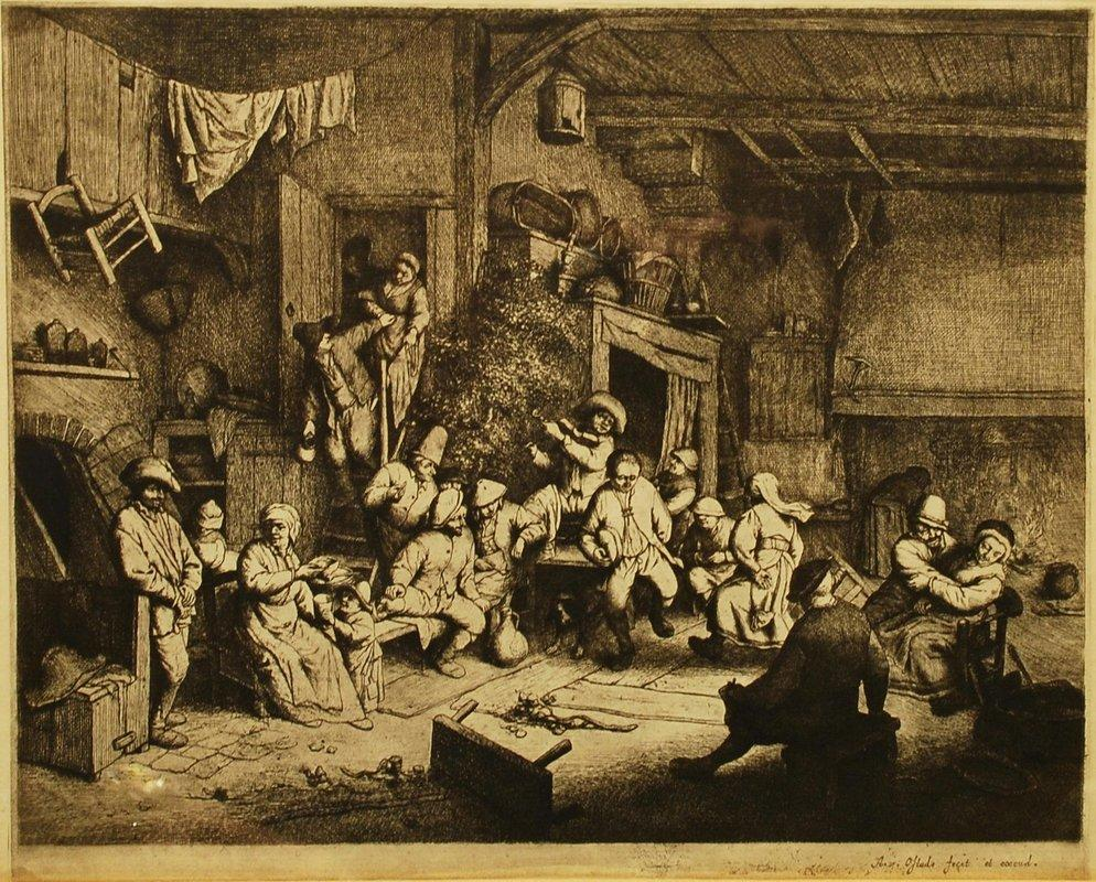 Dance at the Inn - Adriaen van Ostade