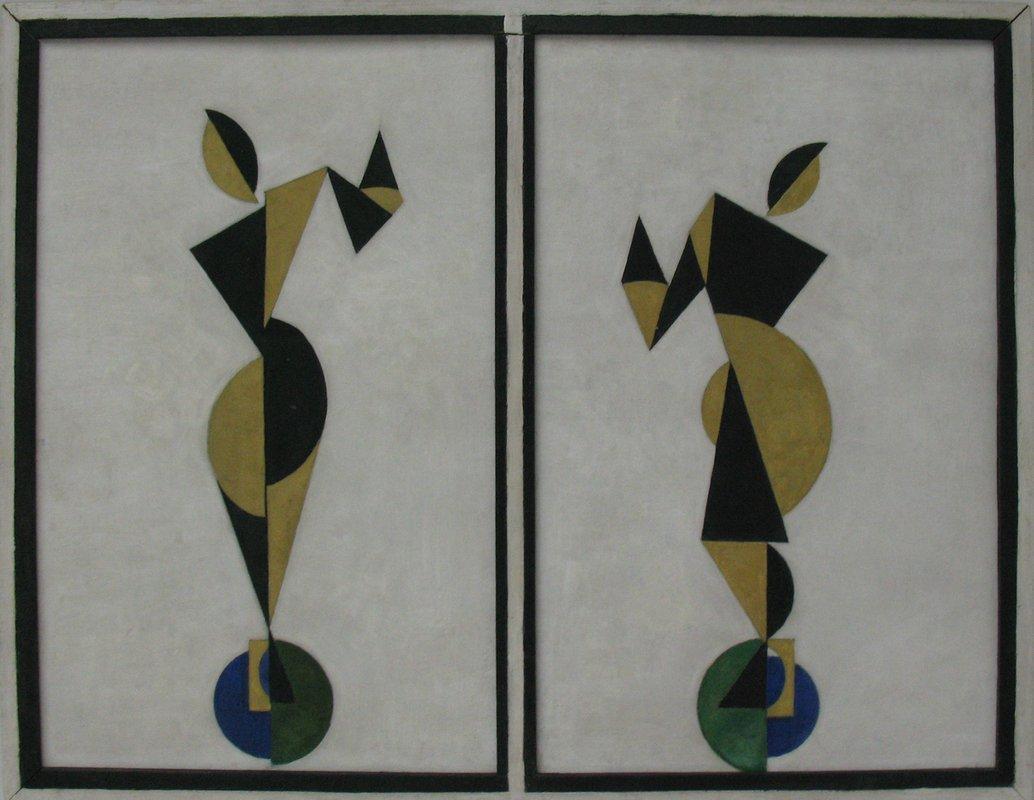 Dancers - Theo van Doesburg