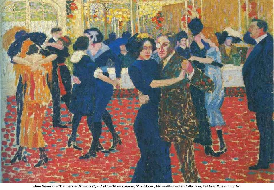 Dancers at Monicos - Gino Severini