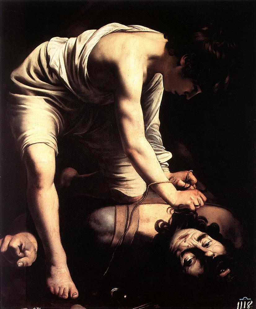 David and Goliath - Caravaggio