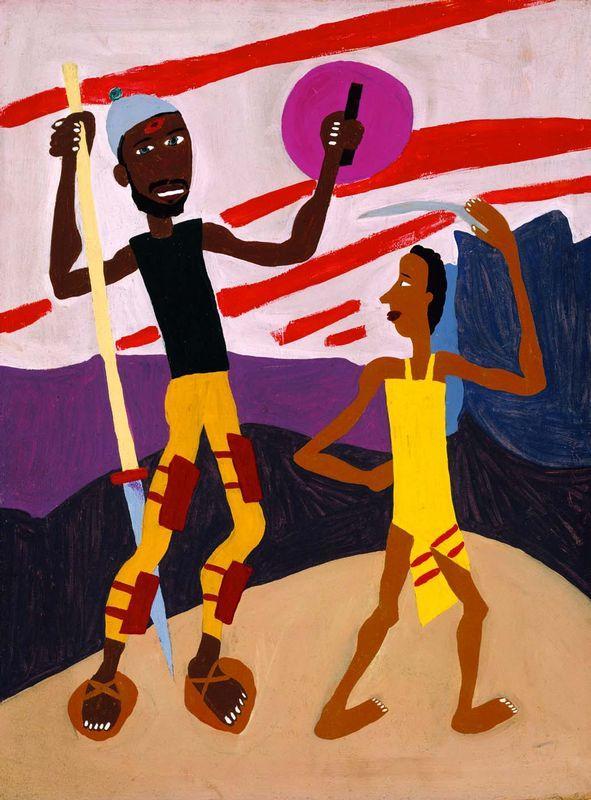 David and Goliath - William H. Johnson